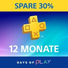 Playstation Plus 1 Jahr für 36,53€ durch günstiges PSN Guthaben