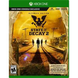 State of Decay 2 - Ultimate Edition (Xbox One) für 14.49€ (Cdiscount)