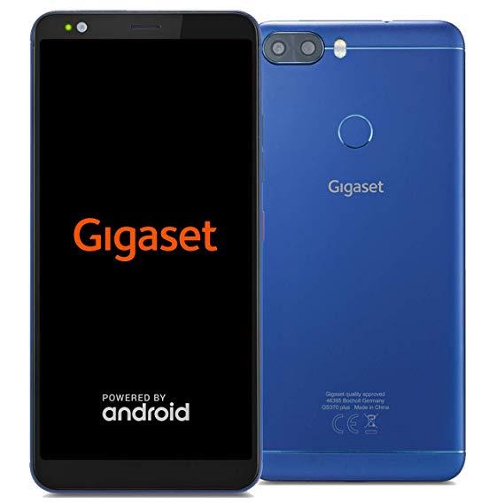 Gigaset GS370 Plus - 64 GB / 4 GB RAM - 8-Kern CPU - 5,7 Zoll IPS Display - Dual-SIM - Android 8.1 - 13 MP - Smartphone in blau [Hartlauer]