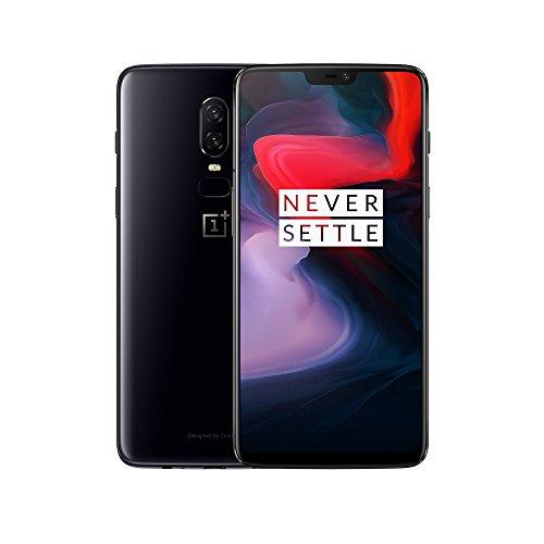 OnePlus 6 128 GB Mirror Black für 405,13 €