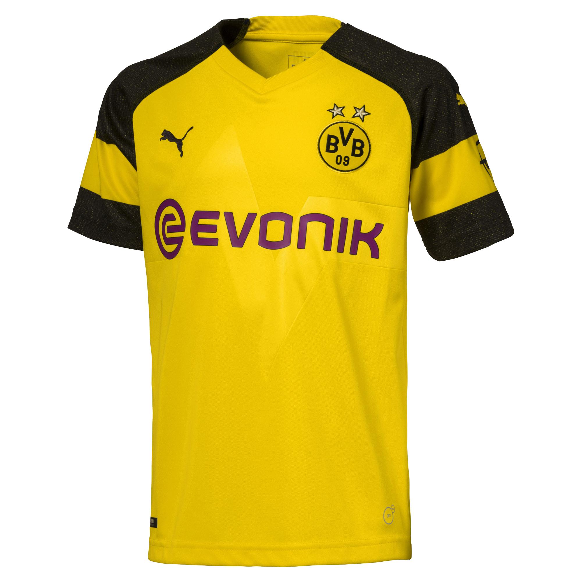 Puma BVB Borussia Dortmund Heimtrikot Saison 2018 / 19 für Herren Gr. S - 5XL I oder das Damen-Trikot oder das Kinder-Trikot oder das Torwart-Trikot zum gleichen Preis