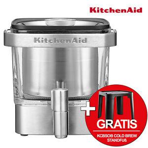 Kitchen Aid Cold-Brew-Kaffeebereiter 5KCM4212SX + Gratis KCBSOB Standfuss
