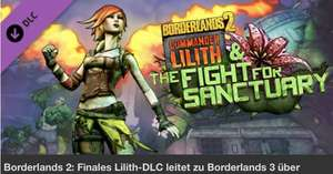 """Kostenlos! Borderlands 2 Neuer DLC """"Commander Lilith & The Fight for Sanctuary PC/XBOX One/PS4"""