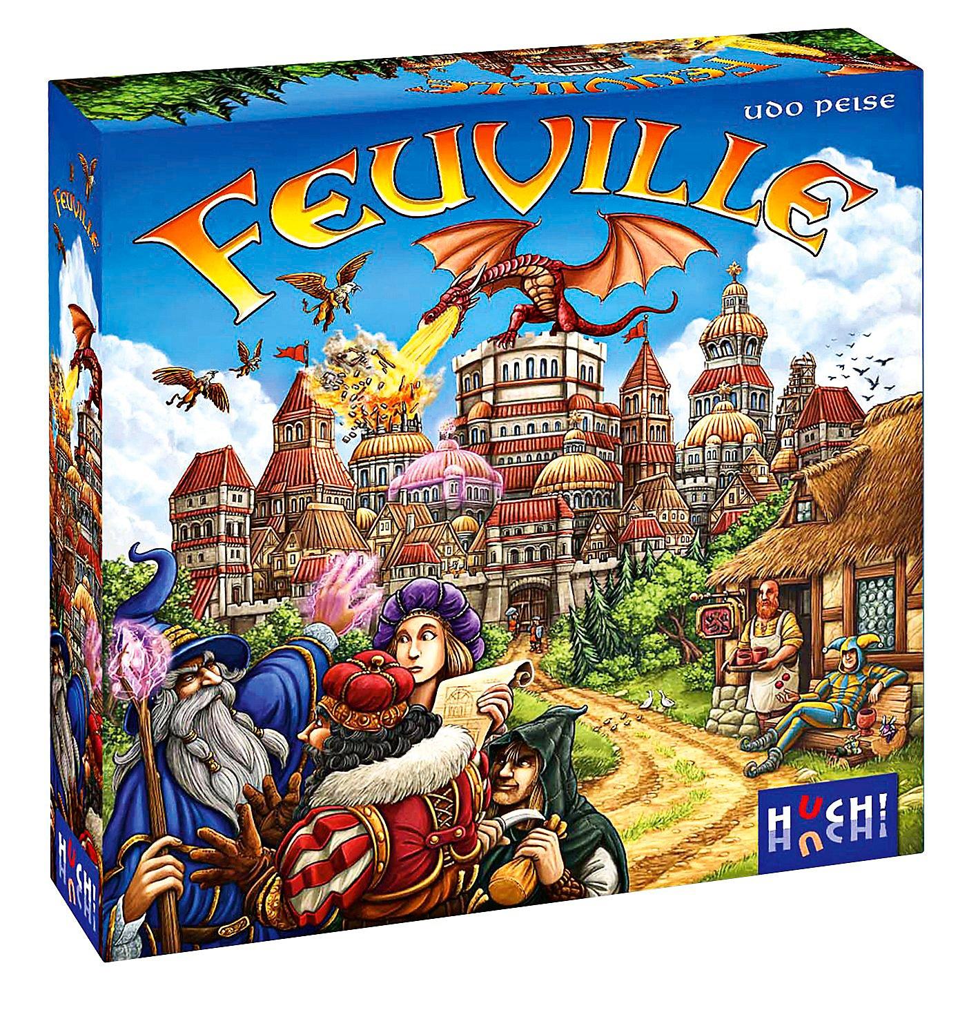 Viele günstige Gesellschaftsspiele bei Weltbild (u.a. Feuville, Sea of Clouds, Million Club, ...)