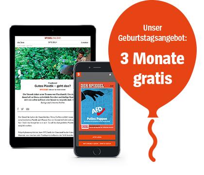 3 Monate Spiegel + kostenfrei