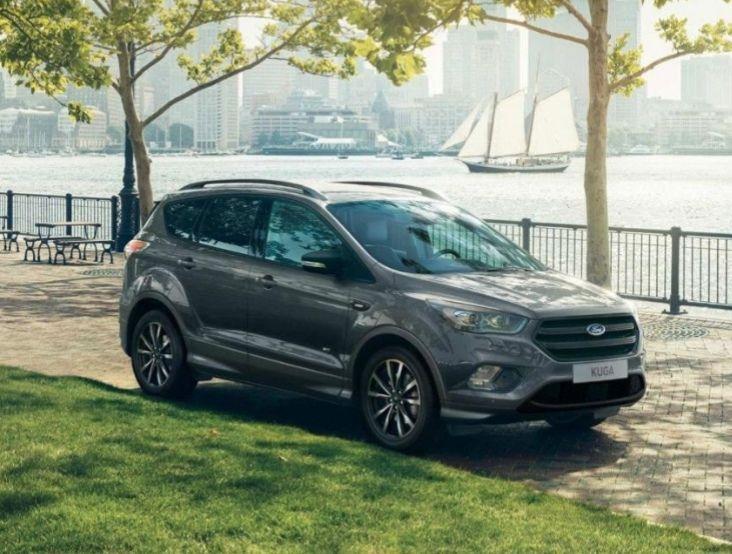 Gewerbeleasing! Ford Kuga 2.0 EcoBoost 4x4 Aut. ST-Line (5 Türen, 169 kw) inkl. Zulassung und Lieferung. Zzgl. Überführungskosten vom 690€