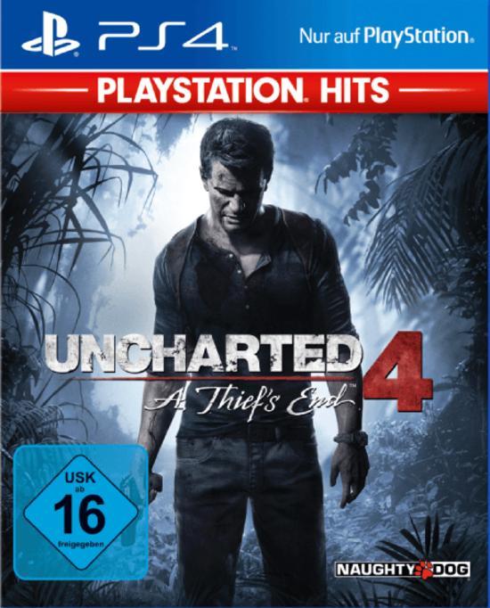 Uncharted 4: A Thief's End (PS4) für 12,98€ (GameStop)