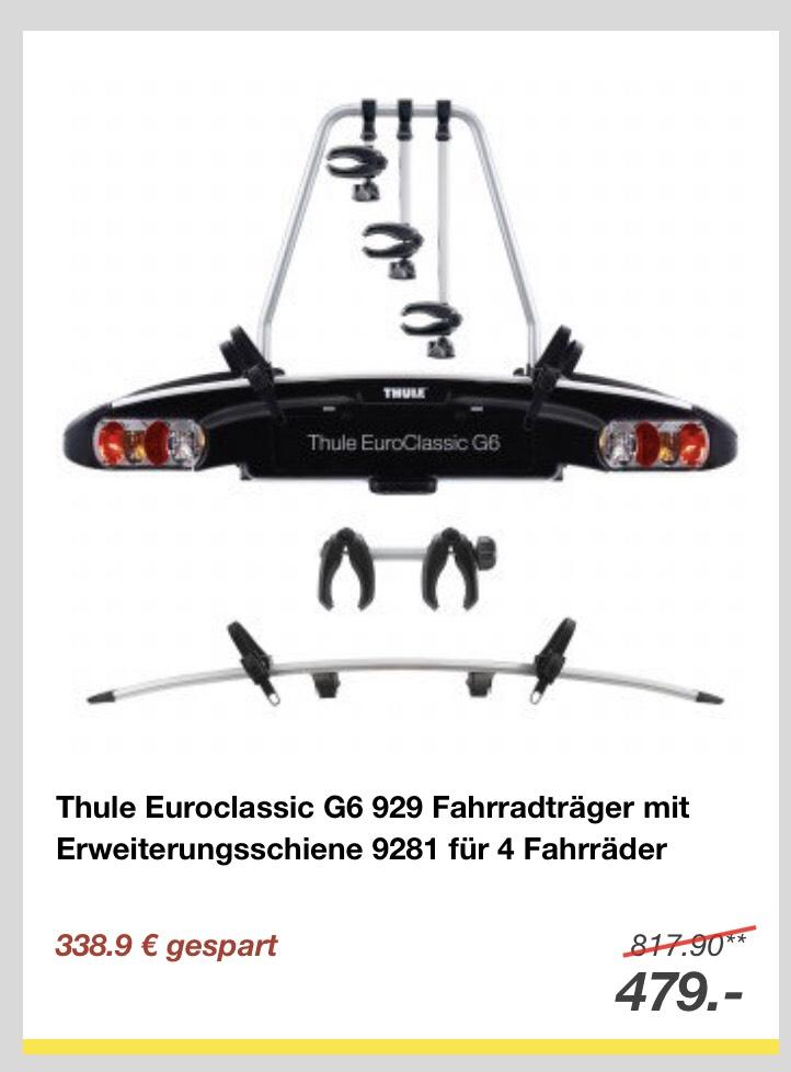 Thule Euroclassic G6 929 und Erweiterung 9821 im Set