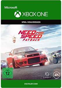 Need for Speed Payback (Xbox One) für 7,50€ (Amazon)