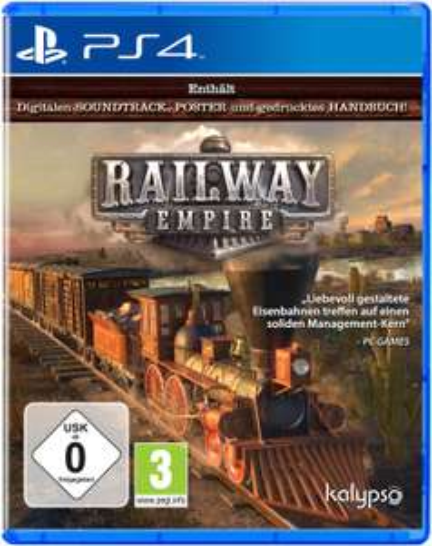 Railway Empire Limited Day One Edition (PS4) für 14,99€ (Saturn & Media Markt)