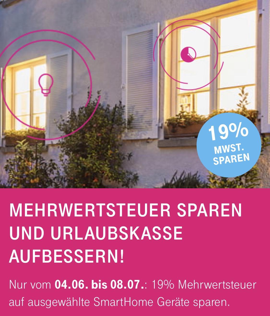 SmartHome Shop Telekom 19 % Geschenk und keine Versandkosten