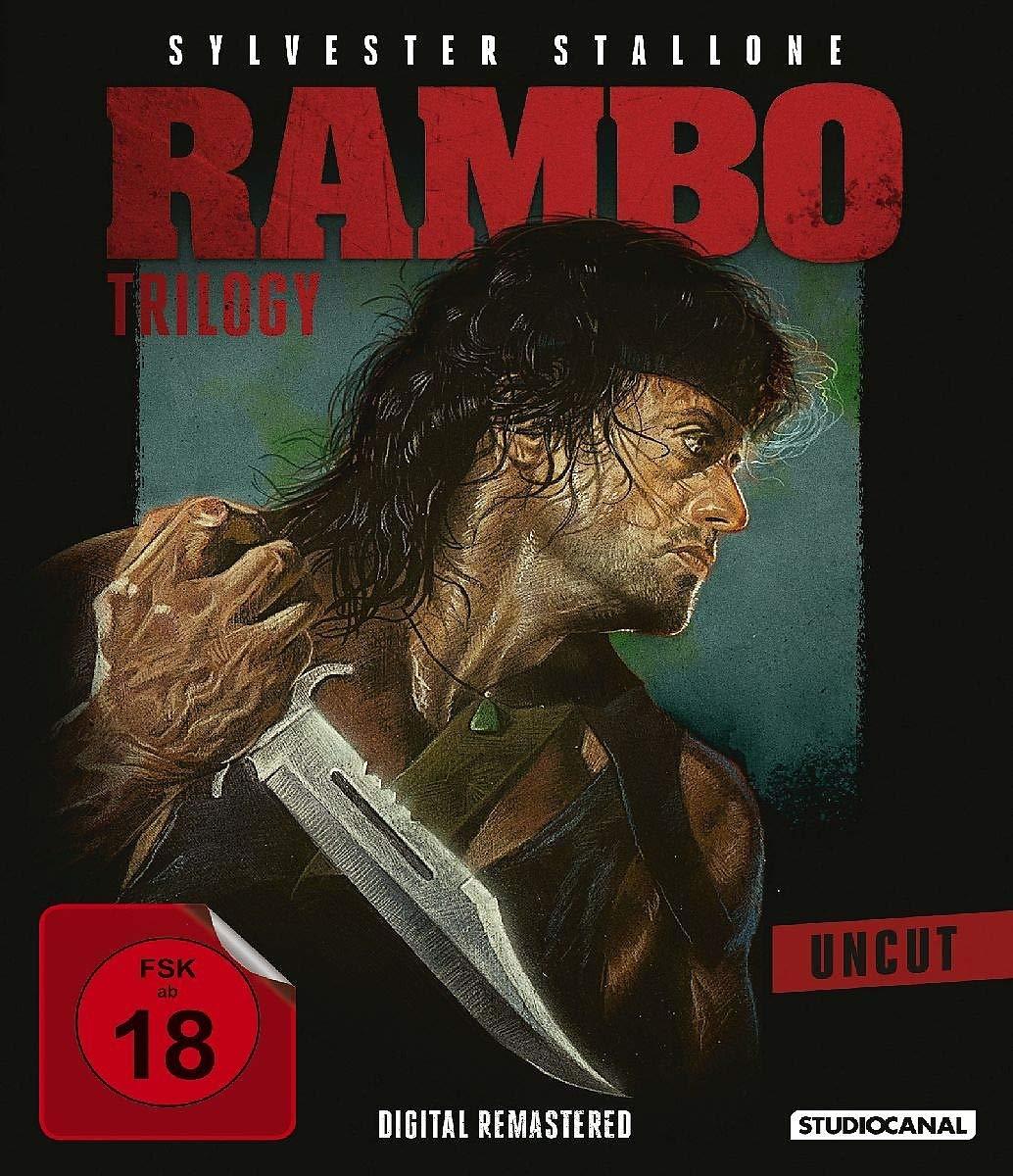 Rambo Trilogy (Digital Remastered Blu-ray) für 19,93€ (Alphamovies)