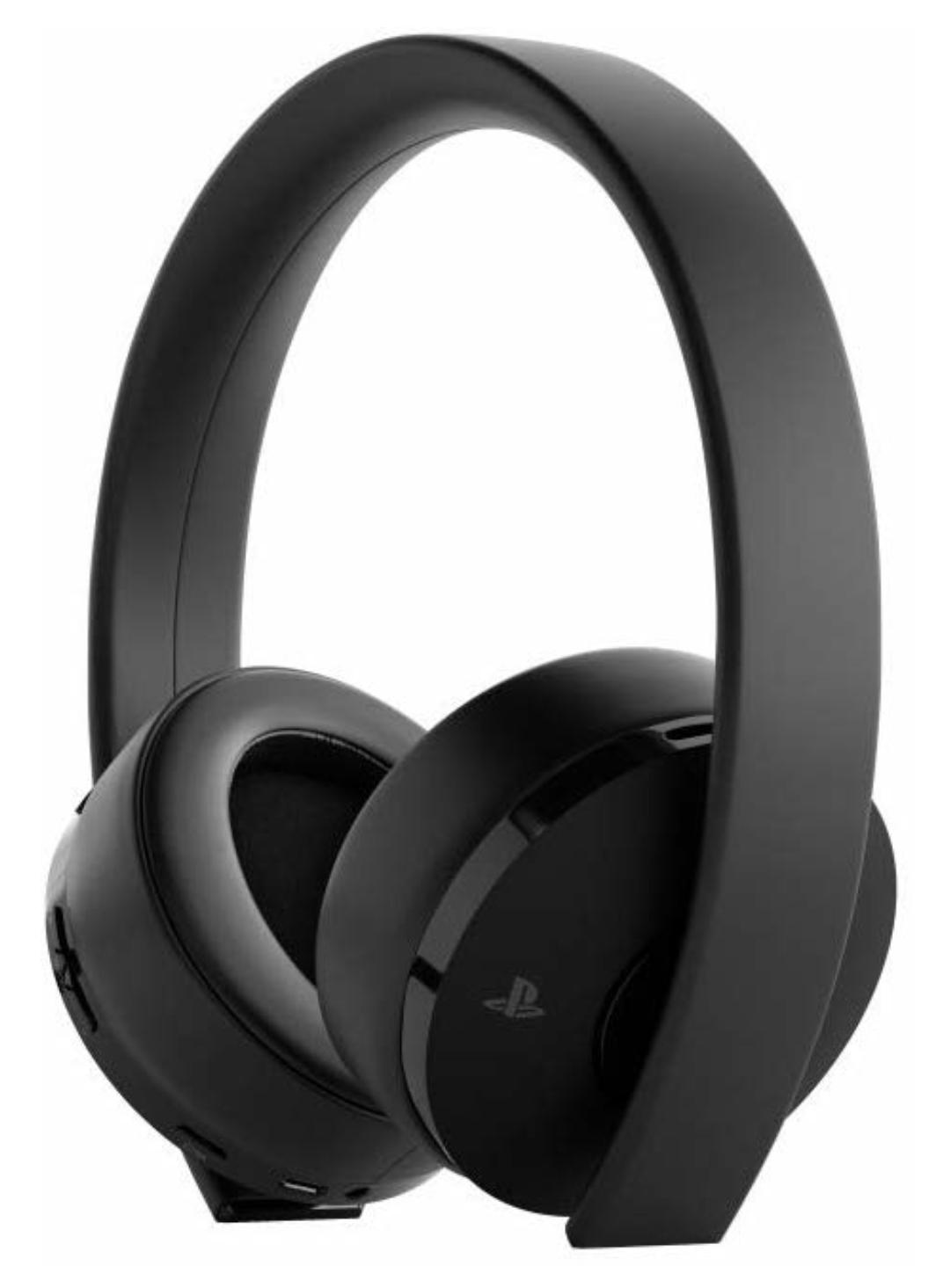 Sony PS4 Wireless Gold 7.1 Surround Gaming Headset, Schwarz