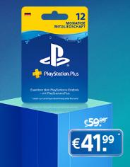 Penny Kartenwelt - 30% auf Sony Playstation+ 12 Monate digitaler Code