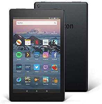 [Amazon Prime] Fire HD 8-Tablet, 16 GB, Schwarz, mit Spezialangeboten