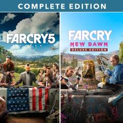 Far Cry® 5 + Far Cry® New Dawn Complete Edition (PSN)