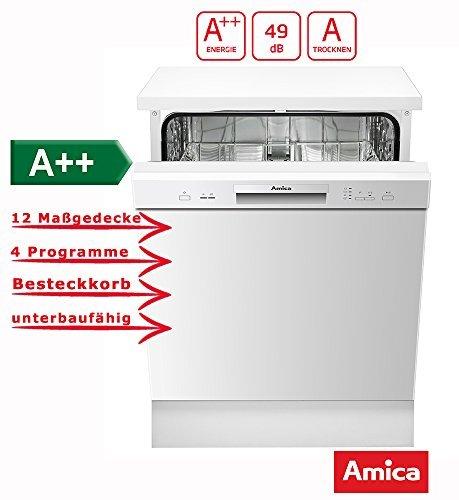 Amica GSP 14745W Geschirrspüler (mit bis zu 35,55€ Guthaben für den Einkauf)