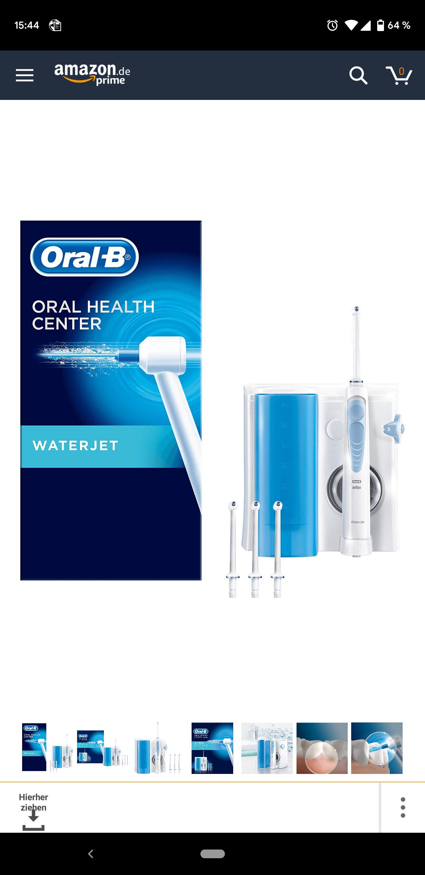 Oral-B Waterjet Munddusche  [Amazon.de]