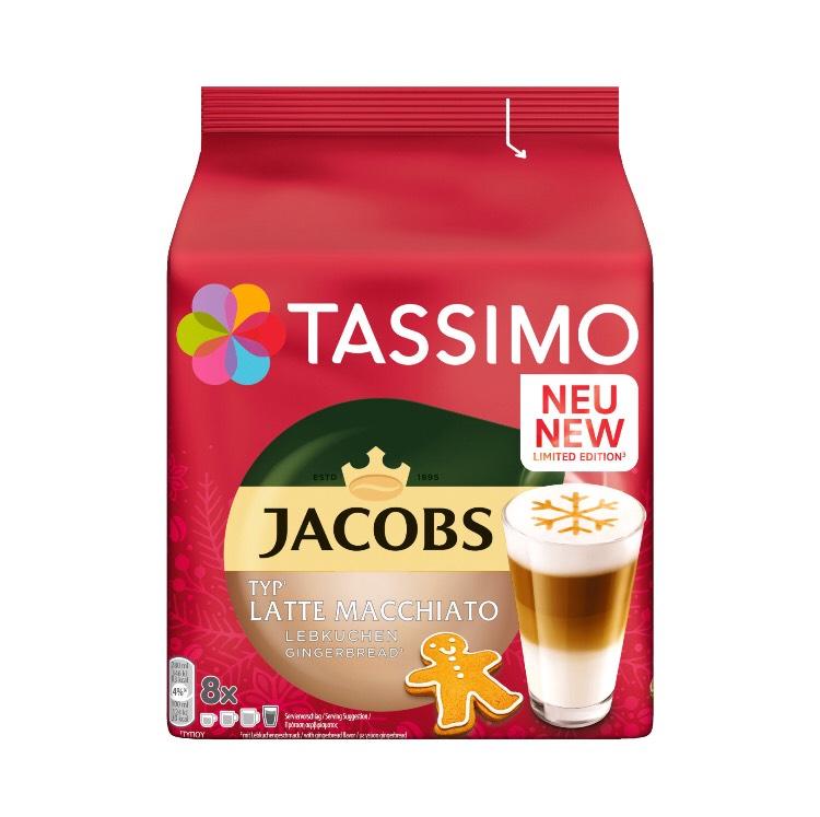 TASSIMO Jacobs Latte Macchiato Lebkuchen (8 Portionen) Lokal bei Kaufland Magdeburg City Carré und weiteren