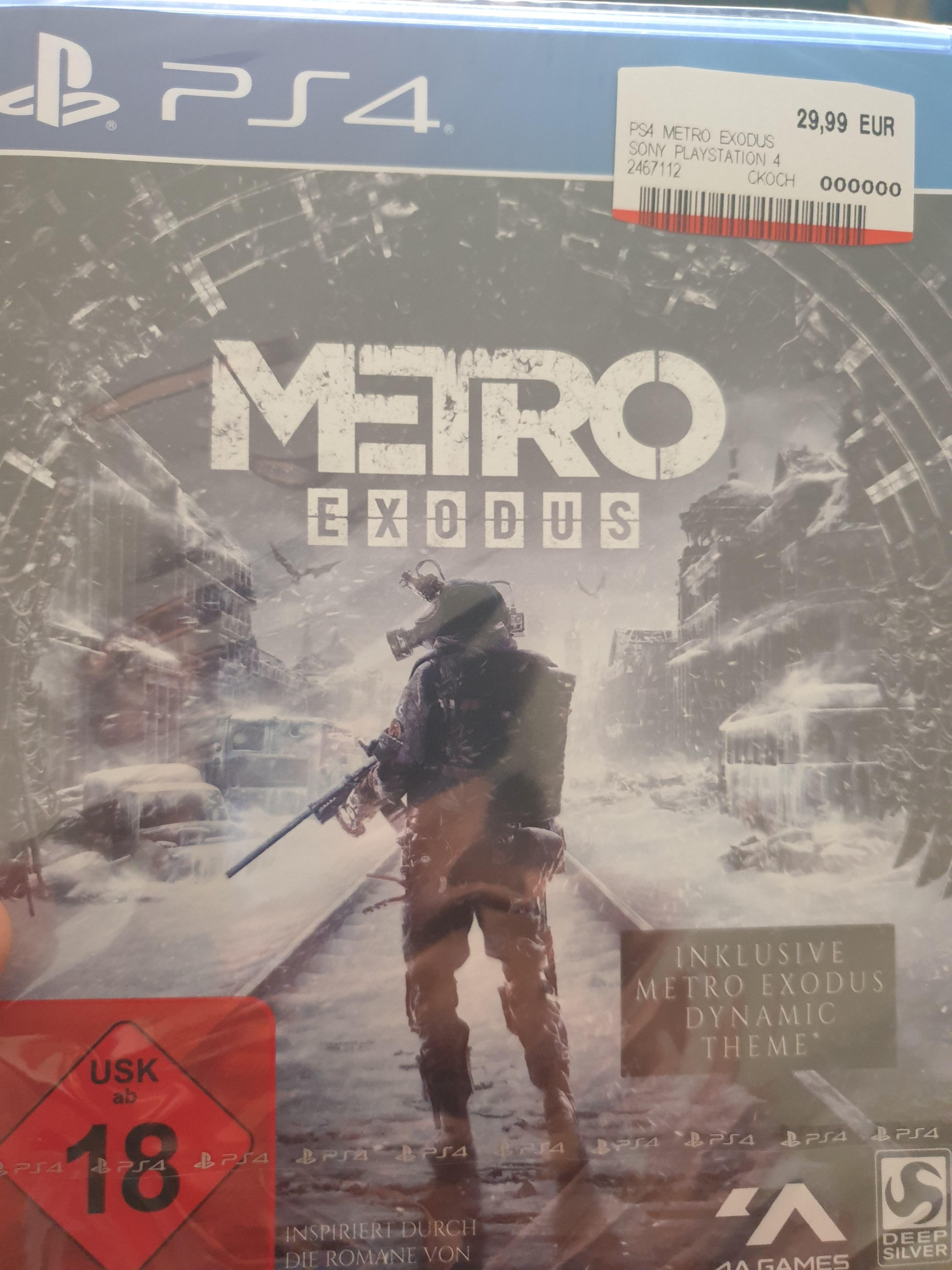 Metro Exodus PS4 für 29,99 und Strange Brigarde PS4 für 9,99 Euro beim Media Markt bzw Saturn nun auch Online
