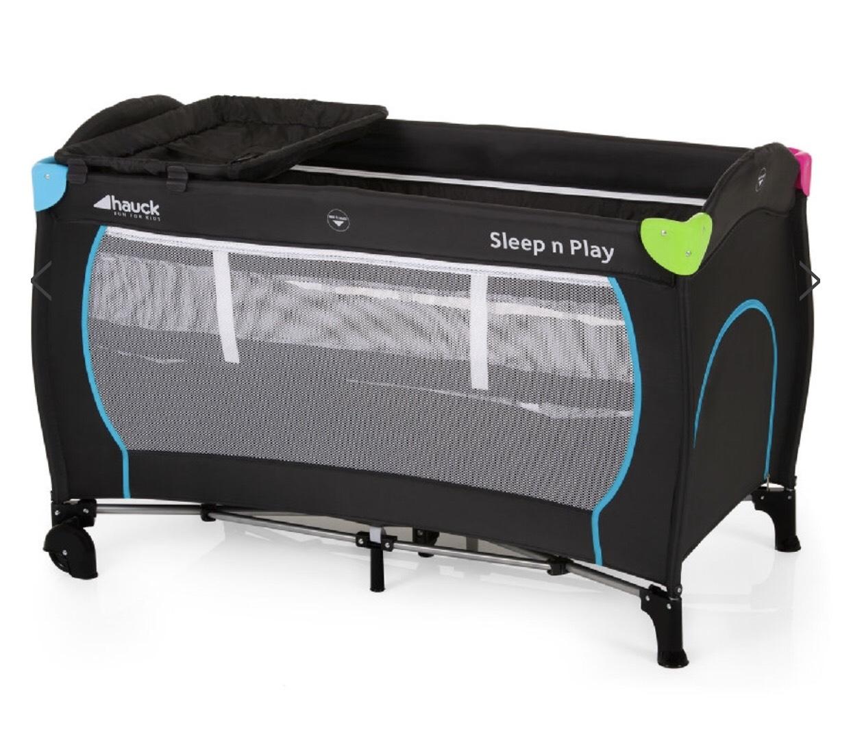 hauck Baby Reisebett Sleep'n Play Center Multicolor Black
