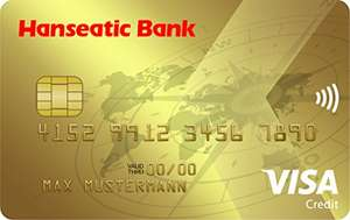 Hanseatic Bank GoldCard 40€ Startguthaben