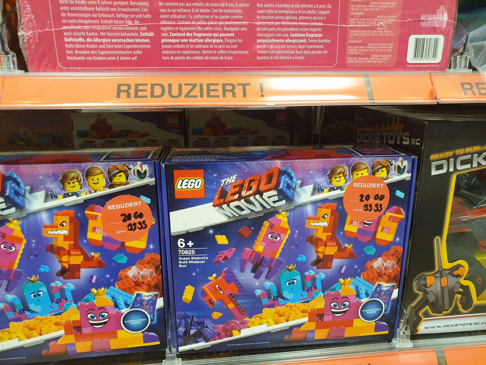 [Lokal] Müller Stgt Vaihingen verschiedene Lego Sets z.B. The Lego Movie 2 - Königin Wasimma