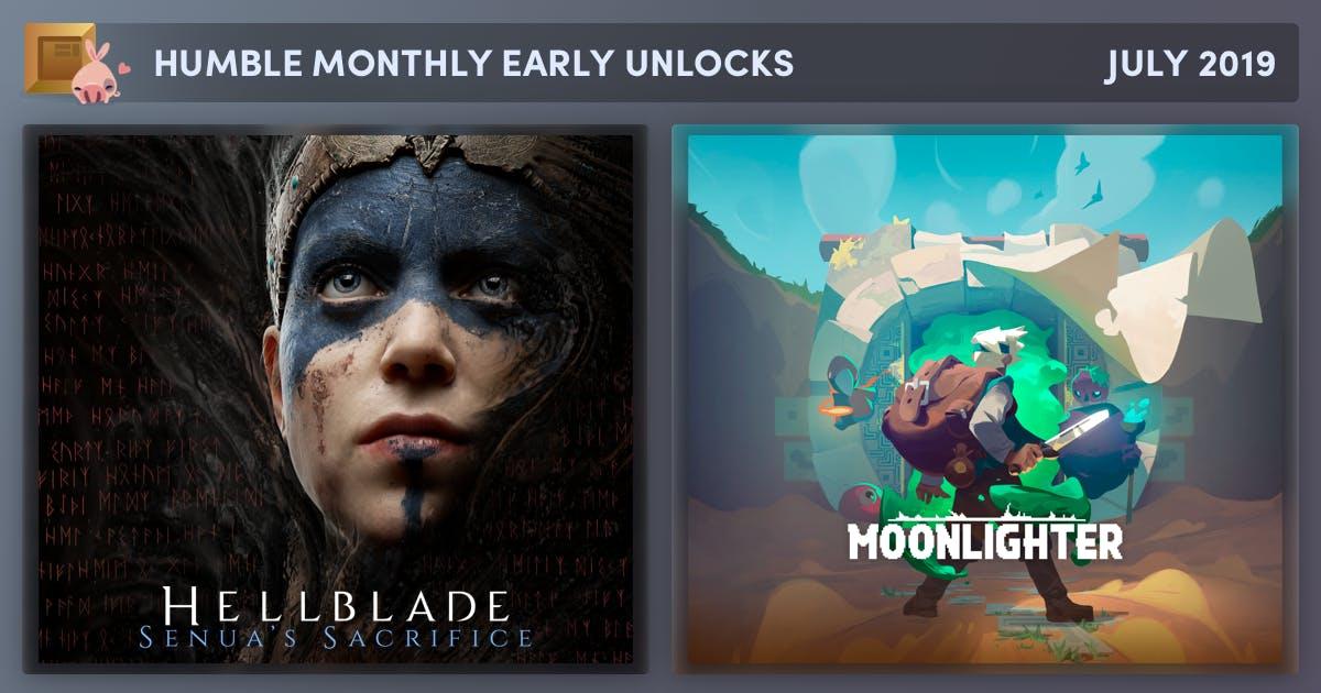 Hellblade: Senua's Sacrifice + Moonlighter (Steam) im Humble Monthly