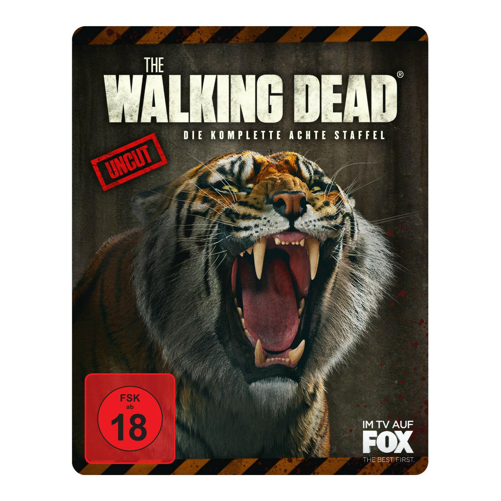 """The Walking Dead - Die komplette achte Staffel Limited Weapon Steelbook """"Shiva"""" (Blu-ray) für 19,99€ versandkostenfrei (Saturn)"""