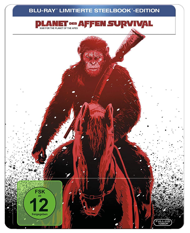 Planet der Affen: Survival Limited Steelbook Edition (Blu-ray) für 9€ versandkostenfrei (Saturn)