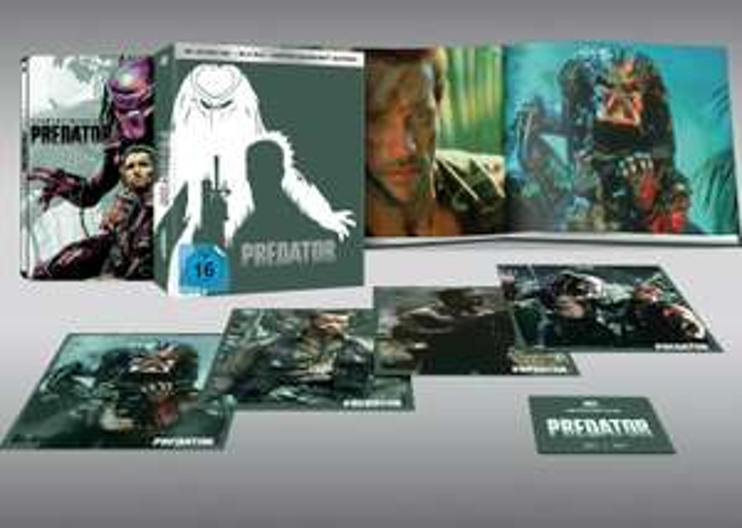 [Saturn] Predator (Limited Slipsheet Edition inkl. 4K Ultra-HD Blu-ray Steelbook) - limitiert auf 444 Stück für 29,99€ inkl. Versand