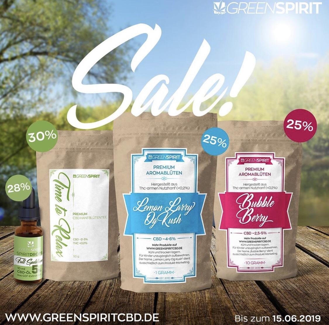 CBD Produkte bis zu 30% Reduziert !