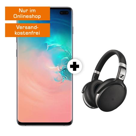 SamsungGalaxy S10+& Sennheiser HD 4.50 Mobil M mit Smartphone 10 Spezial (Ohne Young oder Magenta1Vorteil) [MD]
