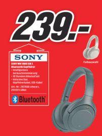 [Regional Mediamarkt Bochum/Castrop-Rauxel] Sony WH-1000XM3  Over Ear Kopfhörer mit Noise Cancelling und Bluetooth für 239,-€
