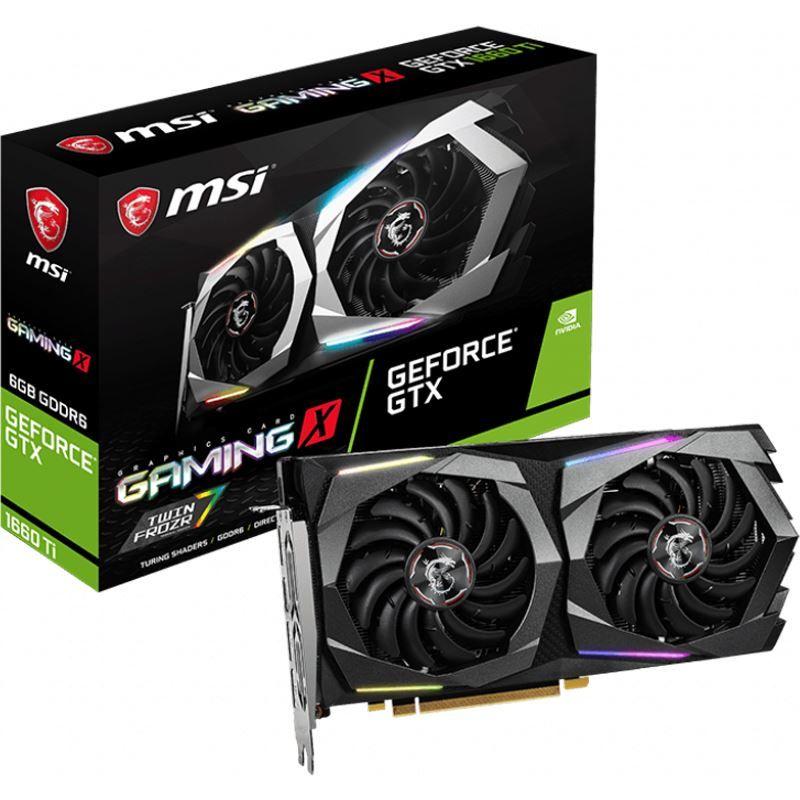6GB MSI GeForce GTX 1660 Ti Gaming X 6G  Mindstar