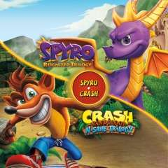 Spyro Reignited Trilogy + Crash Bandicoot N.Sane Trilogy Bundle (PS4) für 39,89€ (PSN Store)