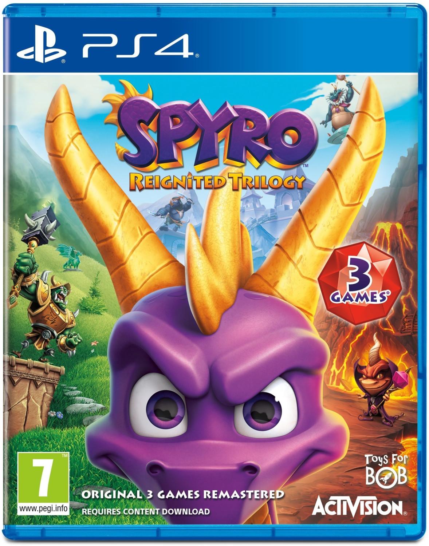 Spyro Reignited Trilogy (PS4 & Xbox One) für je 16,65€ (ShopTo)