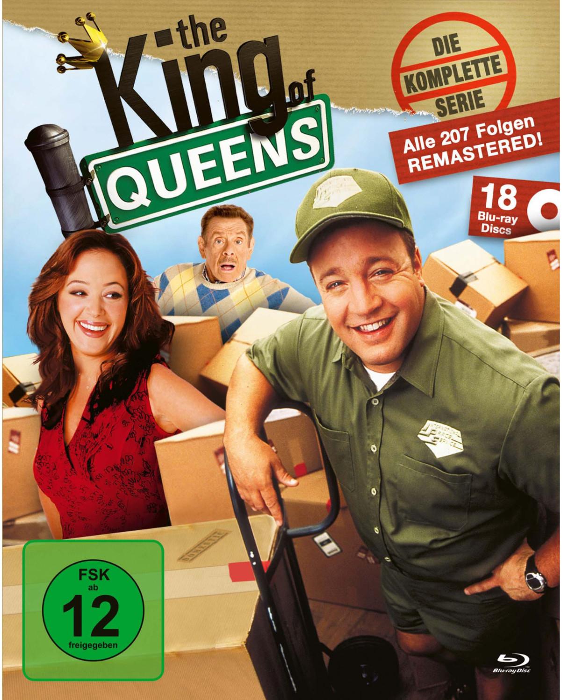 Serien-Angebote durch 20% Müller-Gutschein von PS Plus Rewards: z.B. The King of Queens - Die komplette Serie (King Box) [18 Blu-rays]