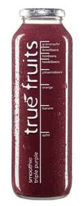 True fruits Smoothies in der 750ml Variante