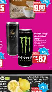 28 Black Energy & Monster Energy | verschiedene Sorten