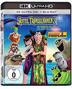 Hotel Transsilvanien 3 - Ein Monster Urlaub (4K Ultra HD Blu-ray + Blu-ray) (Amazon Prime)