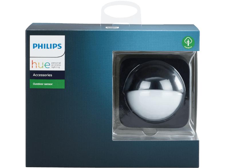 PHILIPS Hue Outdoor Sensor Schwarz Bewegungsmelder Outdoor für 39,-€ [Mediamarkt]