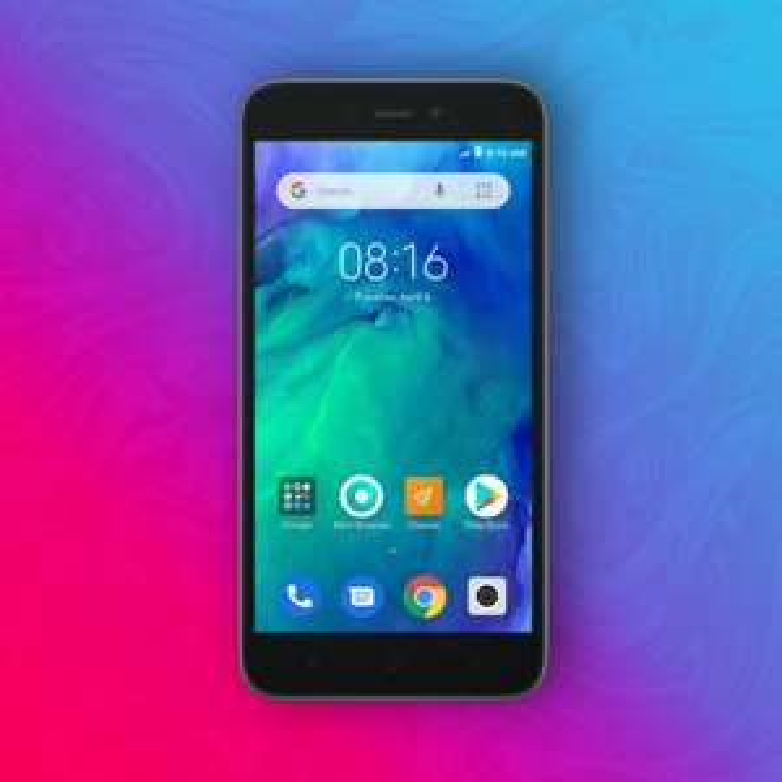 "Xiaomi Redmi Go 16/1GB - Snapdragon 425 - 5"" HD Display - 8/5MP - Dual SIM + MicroSD - Android Go | Global Version"