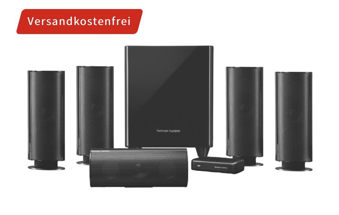 HARMAN KARDON HKTS 65 BQ 5.1 Lautsprechersystem für 399€ [Mediamarkt]