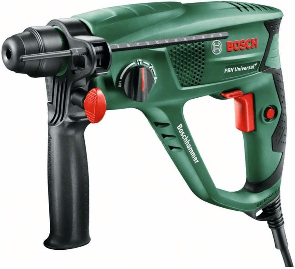 BOSCH Bohrhammer PBH Universal+ 2500 SRE, 600 Watt für 80,99€ [brands4friends]