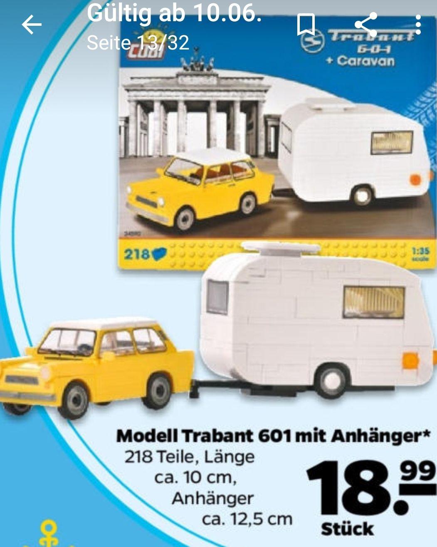 Cobi Trabant + Caravan
