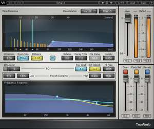 VST-Reverb-Plugin: Waves TrueVerb, VST2/VST3