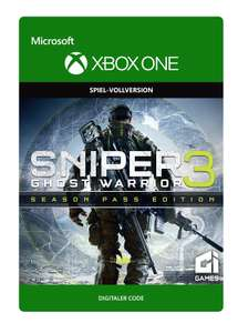 Sniper: Ghost Warrior 3 Season Pass Edition (Xbox One) für 9,99€ (Xbox Store)