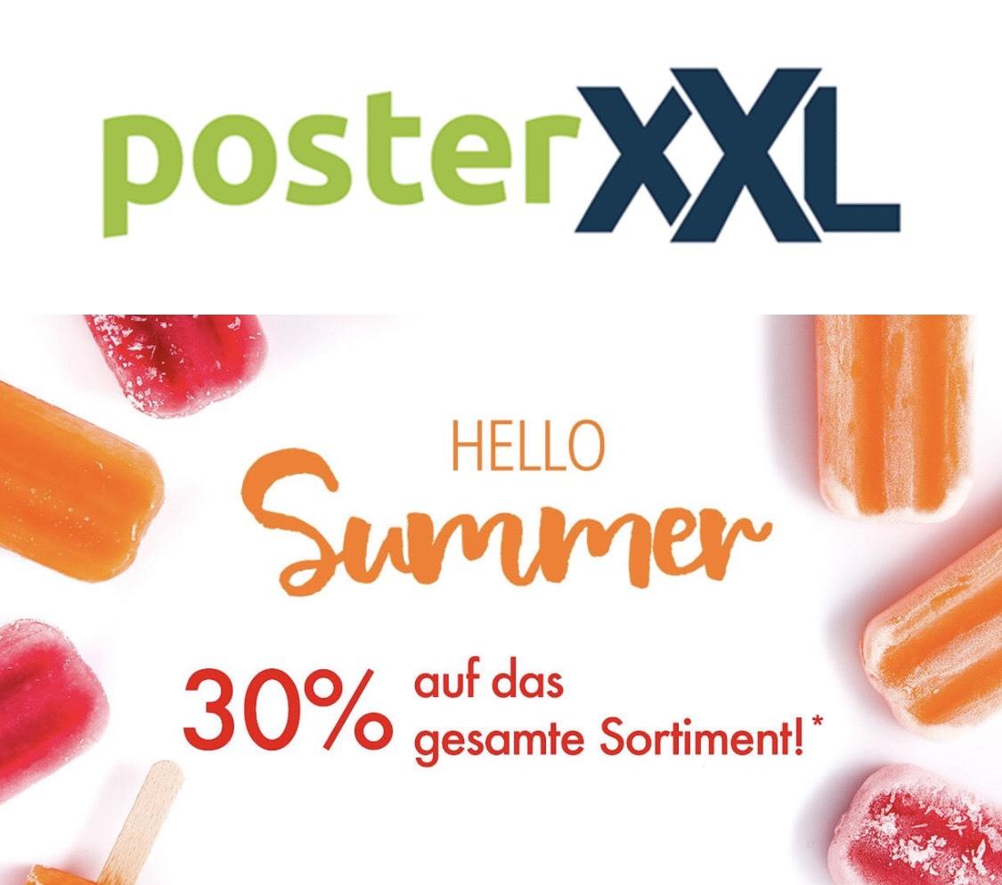 30% auf alles bei PosterXXL