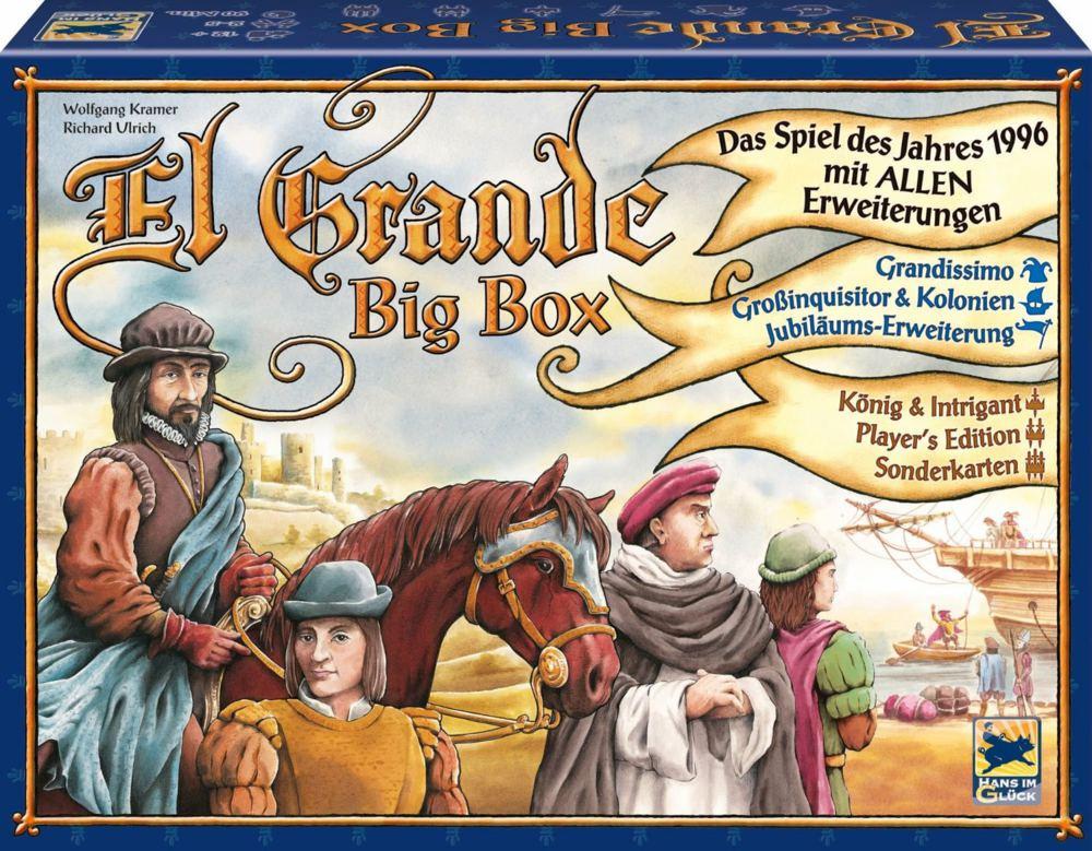 Brettspiel El Grande: Big Box für 39,99€